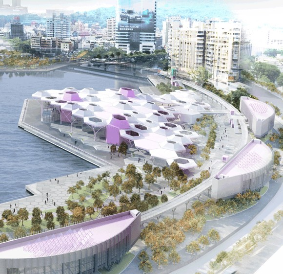 Centro Marítimo y de la Música Pop en Kaohsiung. Manuel Monteserín con Made In Architects