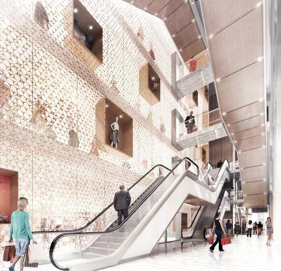 Centro Comercial en Barcelona. ATEQMA. 2016