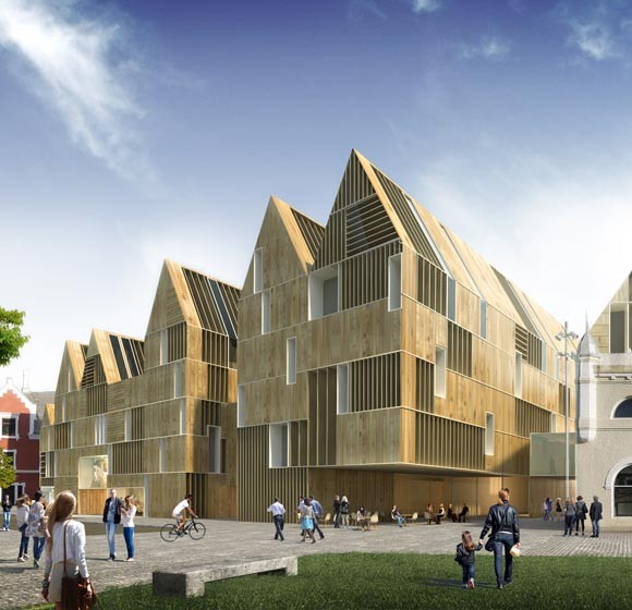 Borgen HUB. MADC Architects. 2017